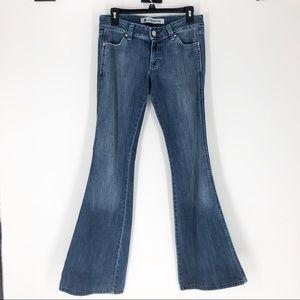 GAP Size 2 Vintage Low Flare Bellbottom Jeans